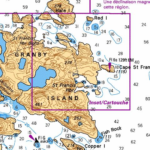 ST FRANCIS HARBOUR Marine Chart - Nautical Charts App