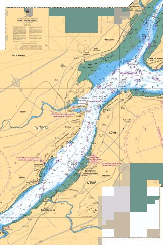 Port de Quebec Marine Chart - Nautical Charts App