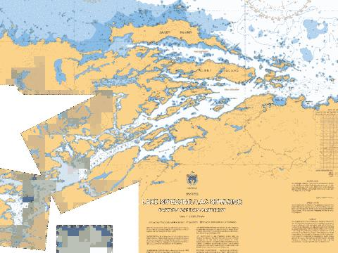 FRENCH RIVER - COMFORT ISLAND TO/� FISHERMAN'S ISLAND Marine Chart - Nautical Charts App