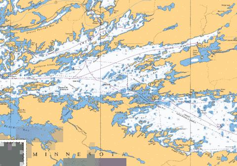 SANDPOINT ISLAND TO/AUX ANCHOR ISLANDS Marine Chart - Nautical Charts App