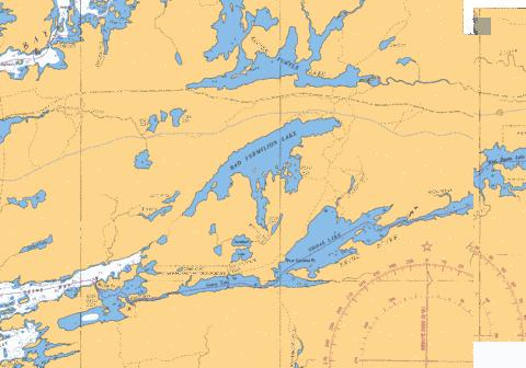 SEINE RIVER SEINE BAY TO/À STURGEON FALLS Marine Chart - Nautical Charts App