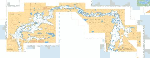 SLAVE LAKE TO/� EAGLENEST LAKE Marine Chart - Nautical Charts App