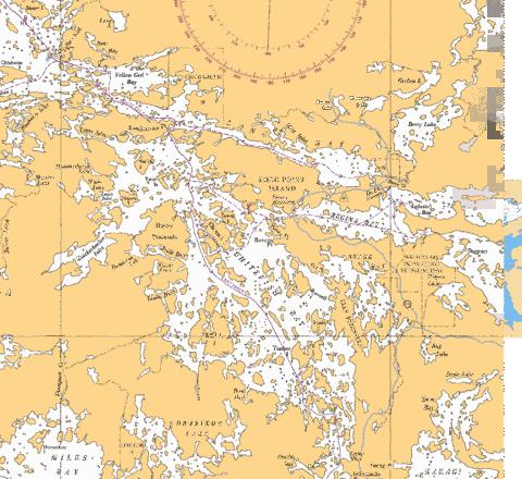 WHITEFISH BAY-2 Marine Chart - Nautical Charts App