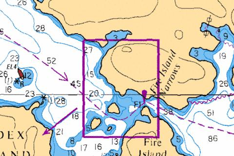 FIRE ISLAND NARROWS Marine Chart - Nautical Charts App
