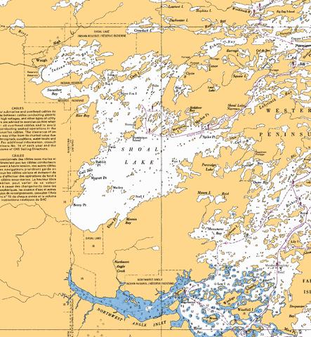 SHOAL LAKE Marine Chart - Nautical Charts App