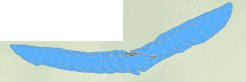 Beauvallon Lake Fishing Map - i-Boating App