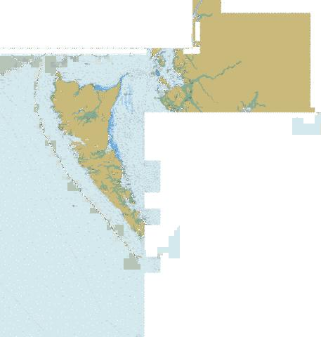 Queen Charlotte Sound to\a Dixon Entrance Marine Chart - Nautical Charts App