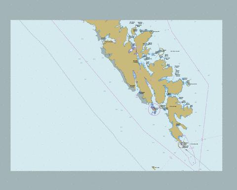 Cape St. James to\� Cumshewa Inlet and\et Tasu Sound (part 1 of 2) Marine Chart - Nautical Charts App
