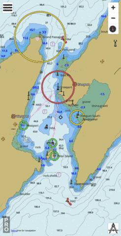 Grand Passage Marine Chart - Nautical Charts App