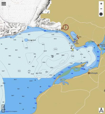 Port Harmon and Approaches / et les approches Marine Chart - Nautical Charts App