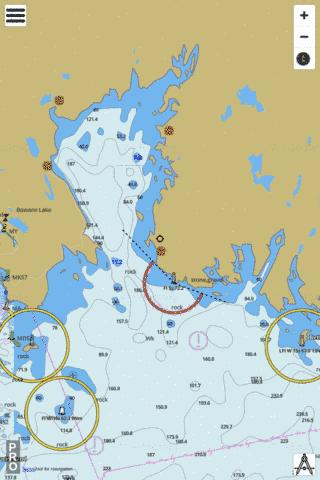 St. Margaret's Bay Marine Chart - Nautical Charts App