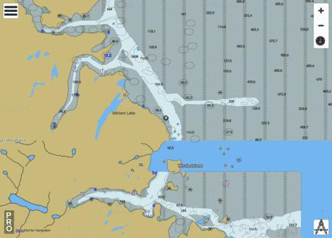 Amiktok Island to Osborne Point Marine Chart - Nautical Charts App