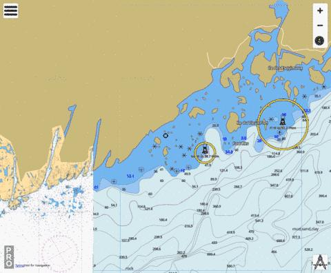 Baie de Bonne-Esp�rance �/to �le Mistanoque Marine Chart - Nautical Charts App