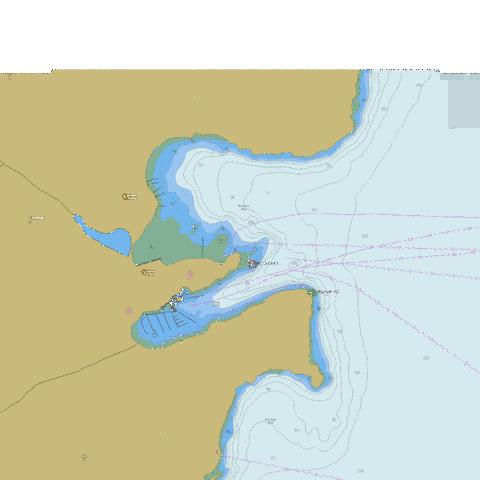 Mannion Bay and\et Snug Cove Marine Chart - Nautical Charts App