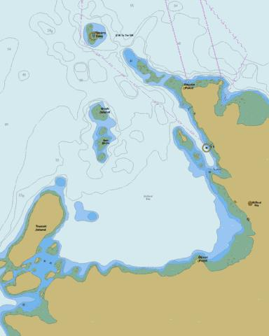 Alliford Bay Marine Chart - Nautical Charts App