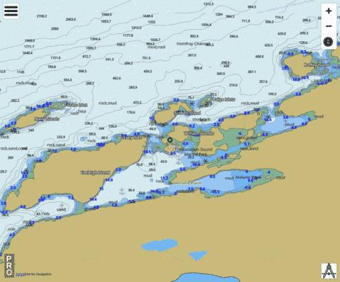 Prideaux Haven Marine Chart - Nautical Charts App