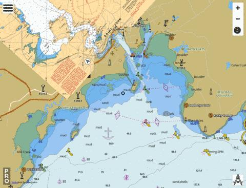 Saint John Harbour and Approaches / et les approches Marine Chart - Nautical Charts App