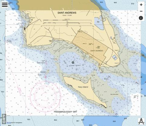 Saint Andrews Marine Chart - Nautical Charts App