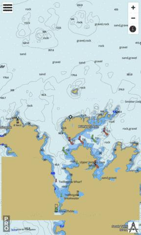 Twillingate Harbour Marine Chart - Nautical Charts App