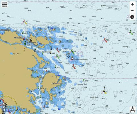Canso Harbour and Inner Approaches Marine Chart - Nautical Charts App