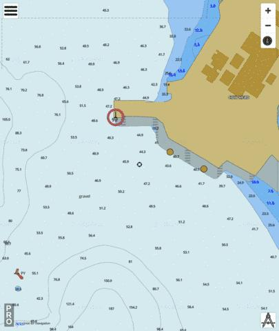 Cow Head Wharves Marine Chart - Nautical Charts App