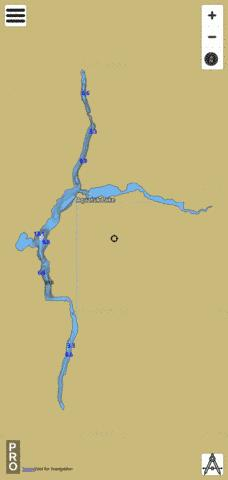 Aquatuk Lake Fishing Map - i-Boating App
