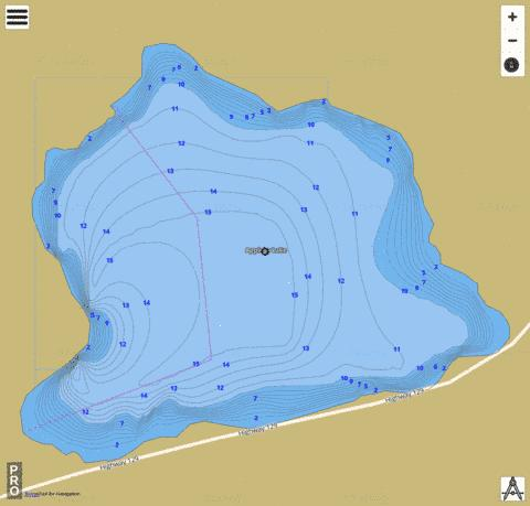 Appleby Lake Fishing Map - i-Boating App
