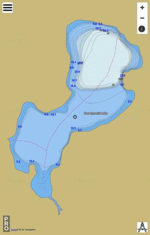 Casselman's Lake Fishing Map - i-Boating App