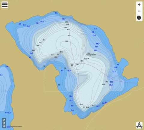 Army L. Fishing Map - i-Boating App