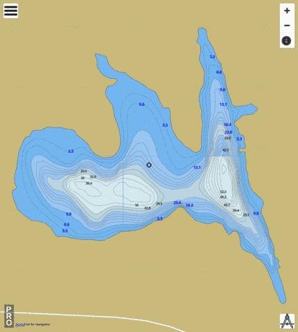 Bouck L. 21 Fishing Map - i-Boating App