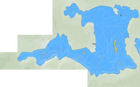 Wigwasan Lake Marine Chart - Nautical Charts App