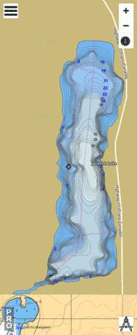 Jackfish Lake Fishing Map - i-Boating App