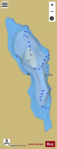 Leta Lake Fishing Map - i-Boating App