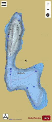 Limit Lake Fishing Map - i-Boating App