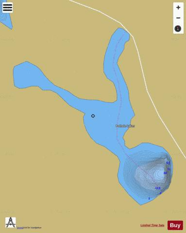 Pothole Lakes Fishing Map - i-Boating App