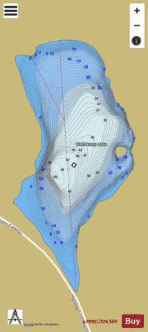Wolf Camp Lake Fishing Map - i-Boating App