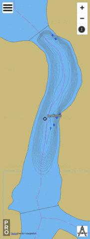 Les Etroits Fishing Map - i-Boating App