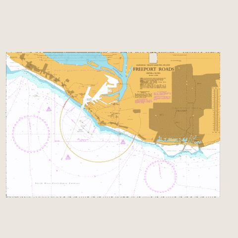 Freeport Roads Marine Chart - Nautical Charts App