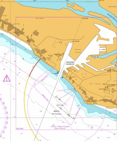 Freeport Harbour Marine Chart - Nautical Charts App