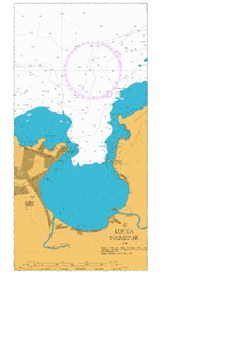 A  Lucea Harbour Marine Chart - Nautical Charts App