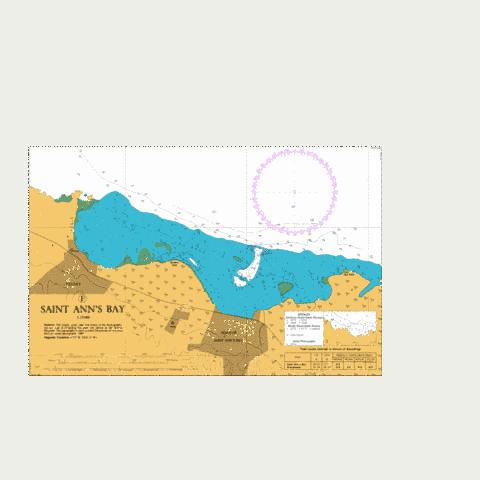 F  Saint Ann's Bay Marine Chart - Nautical Charts App