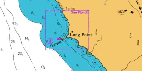 B  Long Point Harbour Marine Chart - Nautical Charts App