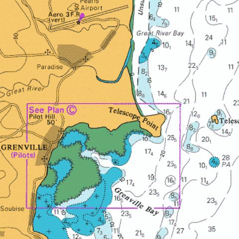 C  Grenville Harbour Marine Chart - Nautical Charts App