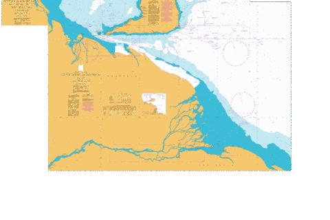 Approaches to Trinidad and the Rio Orinoco Marine Chart - Nautical Charts App
