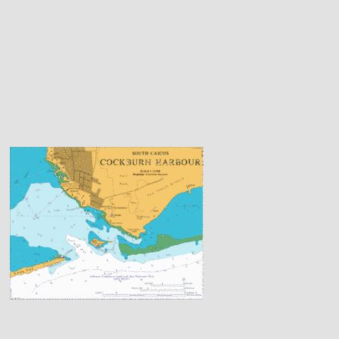 Cockburn Harbour Marine Chart - Nautical Charts App