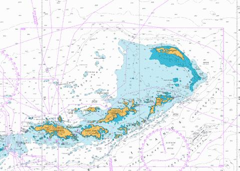 Anegada to Saint Thomas Marine Chart - Nautical Charts App