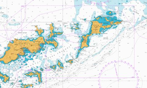 North Sound to Road Harbour Marine Chart - Nautical Charts App