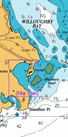 Mamora Bay Marine Chart - Nautical Charts App