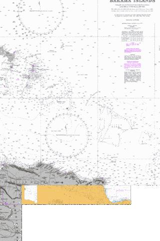 Passages Between Turks and Caicos Islands and Dominican Republic Marine Chart - Nautical Charts App