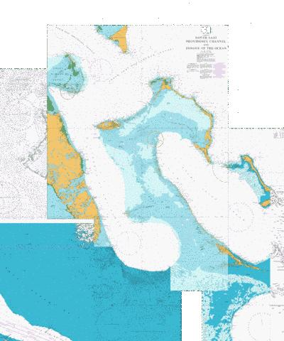 North East Providence Channel and Tongue of the Ocean Marine Chart - Nautical Charts App